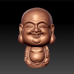 lovelyBuddha1.jpg Télécharger fichier STL gratuit joli Bouddha • Design pour imprimante 3D, stlfilesfree