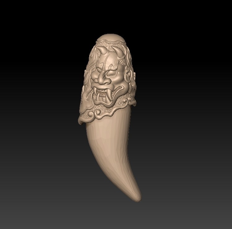 amulet1.jpg Download free STL file Oriental amulet • 3D print template, stlfilesfree