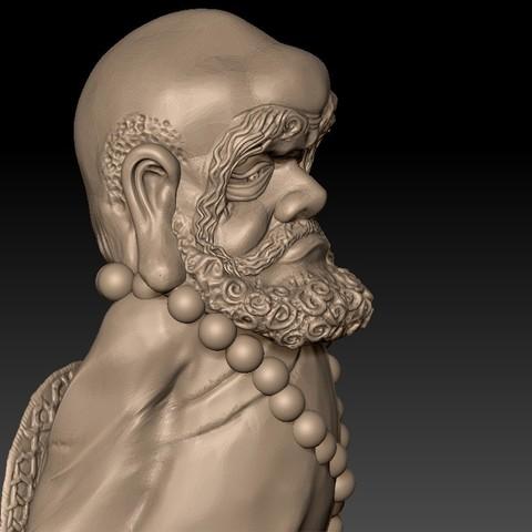 Bodhidharma5.jpg Download free STL file Bodhidharma  • Object to 3D print, stlfilesfree