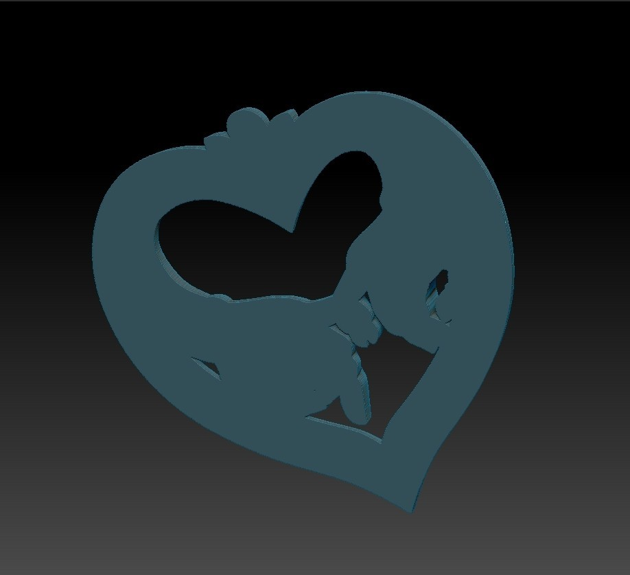 love_hands5.jpg Download free STL file hands of love • 3D printer model, stlfilesfree