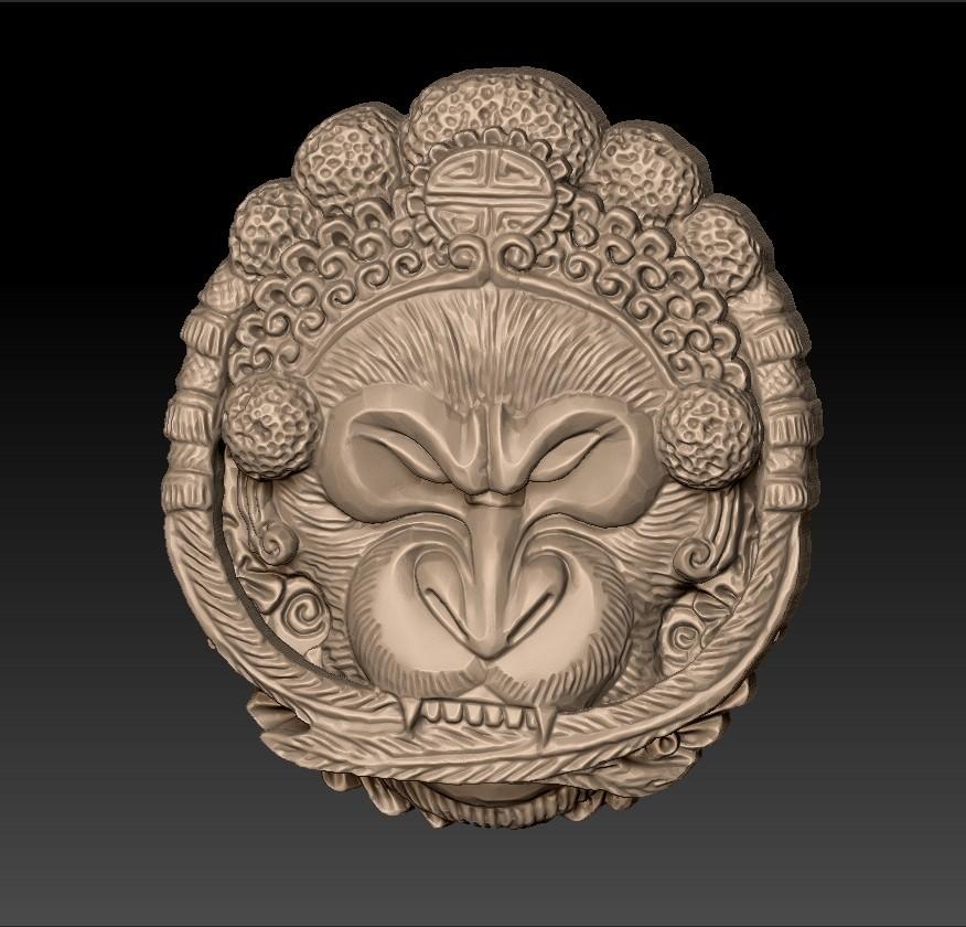 Opera_monkey1.jpg Télécharger fichier STL gratuit Singe • Design imprimable en 3D, stlfilesfree