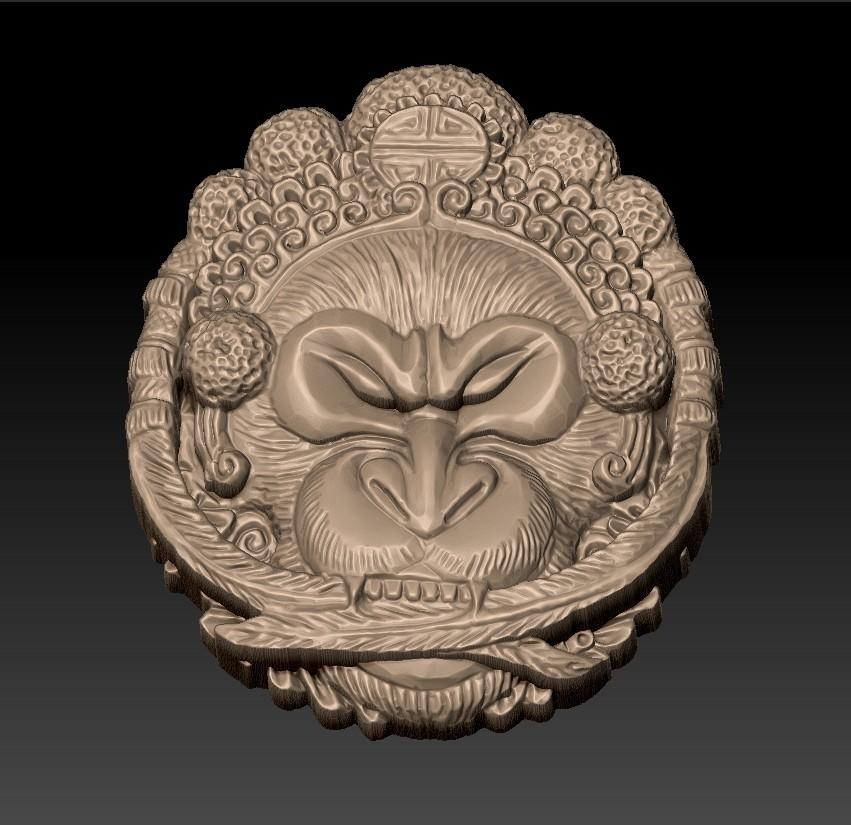 Opera_monkey3.jpg Télécharger fichier STL gratuit Singe • Design imprimable en 3D, stlfilesfree