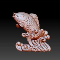 fish3d1.jpg Télécharger fichier STL gratuit pêcher gratuitement • Plan pour impression 3D, stlfilesfree