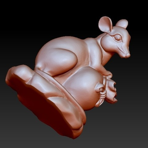 mouse5.jpg Download free STL file mouse 3d model • 3D printing object, stlfilesfree