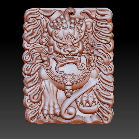 GuardianLion1.jpg Download free OBJ file guardian lions or Foo Dogs • Template to 3D print, stlfilesfree
