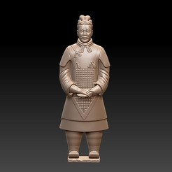 TerracottaArmy1.jpg Download free STL file Terracotta Army • 3D print template, stlfilesfree