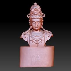 47guanyin1.jpg Download free OBJ file guanyin bodhisattva kwan-yin sculpture for cnc or 3d printer 47 • 3D printer template, stlfilesfree