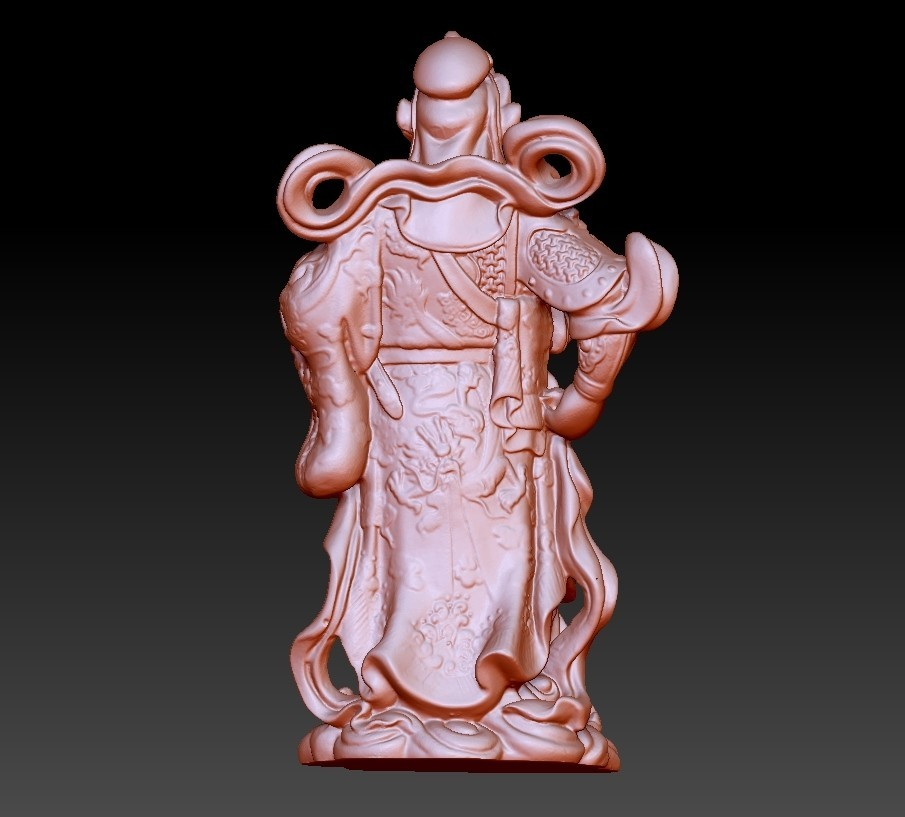 guangongA3.jpg Download free OBJ file Guan Gong  • Template to 3D print, stlfilesfree