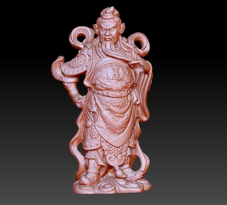guangongA1.jpg Download free OBJ file Guan Gong  • Template to 3D print, stlfilesfree
