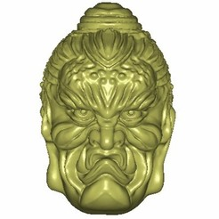 xa369-1.jpg Download free STL file buddha and demon face 2  • 3D printable model, stlfilesfree