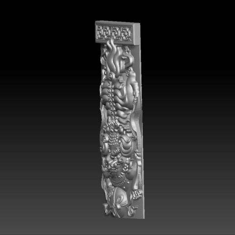 traditional_lion2.jpg Télécharger fichier STL gratuit Lion • Modèle imprimable en 3D, stlfilesfree