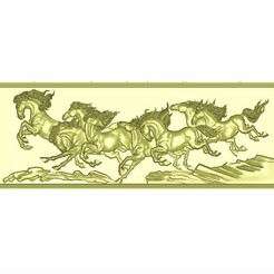 horse_c1.jpg Download free STL file horses relief models for cnc • 3D printable object, stlfilesfree