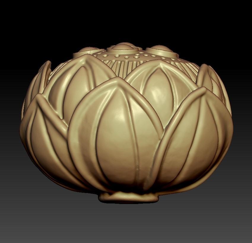 lotusFlower3.jpg Download free STL file lotus • 3D printing design, stlfilesfree