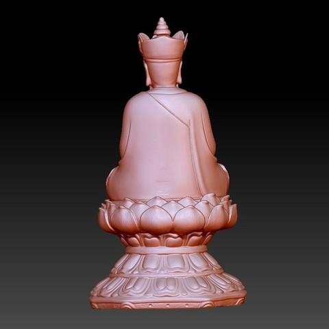 JizoA3.jpg Télécharger fichier OBJ gratuit Bouddha Kshitigarbha • Plan pour impression 3D, stlfilesfree
