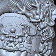 guangong_dragon6.jpg Download free STL file Guangong and dragon • 3D printable design, stlfilesfree
