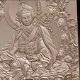 Thangka10.jpg Download free STL file Thangka paintings of bas-relief • 3D print template, stlfilesfree