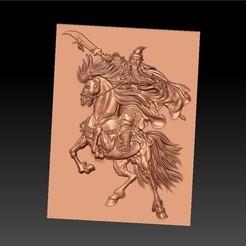 GuanGongHorseWW1.jpg Télécharger fichier STL gratuit GuanGong • Design imprimable en 3D, stlfilesfree