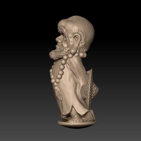Bodhidharma2.jpg Download free STL file Bodhidharma  • Object to 3D print, stlfilesfree
