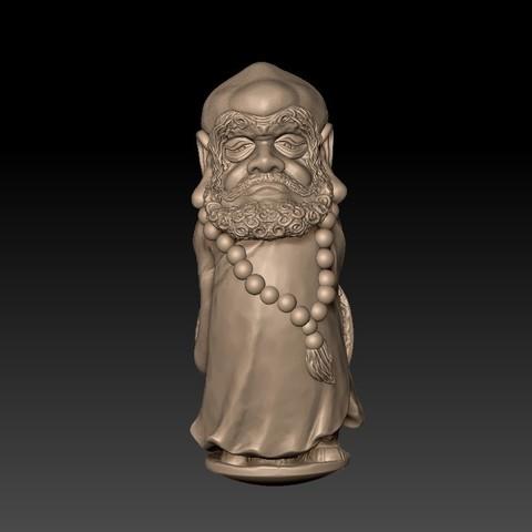 Bodhidharma1.jpg Download free STL file Bodhidharma  • Object to 3D print, stlfilesfree