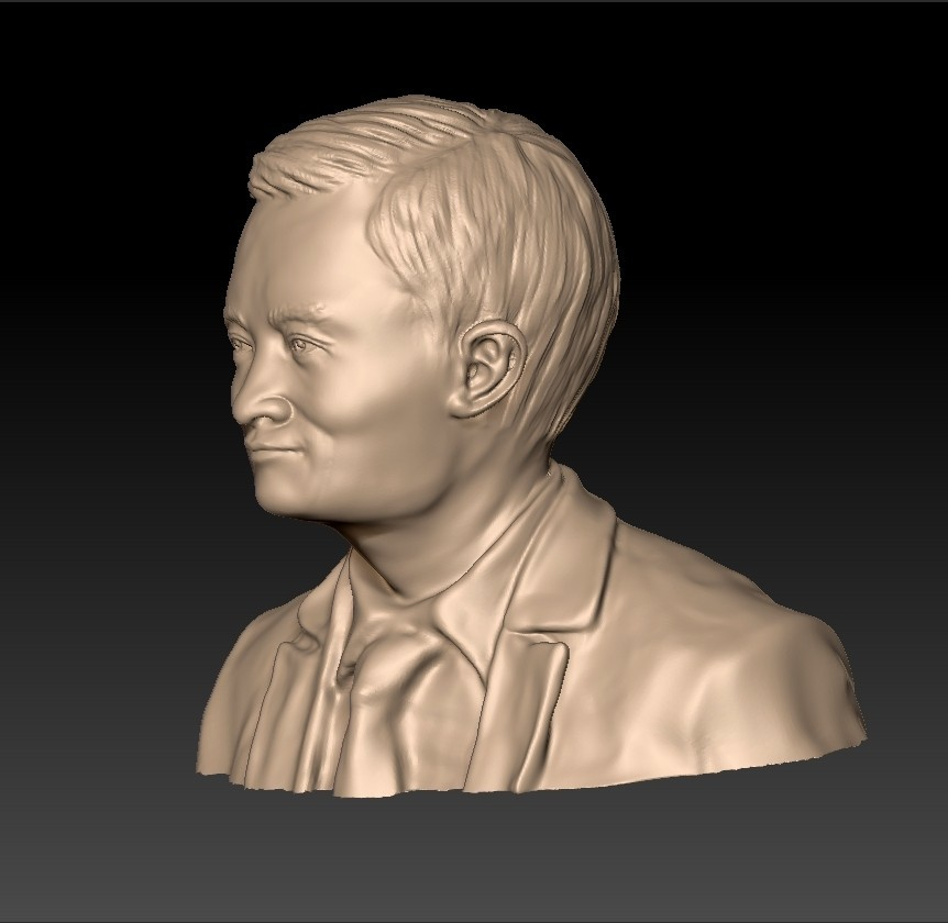JackMa2.jpg Download free STL file Jack Ma statue • 3D printing object, stlfilesfree