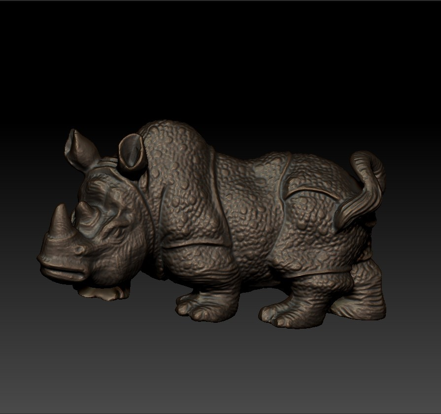 rhinoceros1.jpg Download free STL file rhinoceros sculpture • 3D print object, stlfilesfree