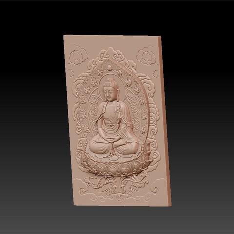 buddha_background2.jpg Télécharger fichier STL gratuit Bouddha • Design à imprimer en 3D, stlfilesfree
