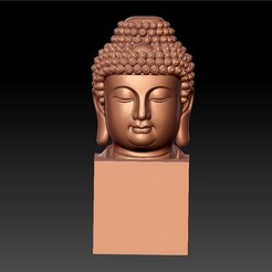 BuddhaHeadSculpture1.jpg Download free STL file buddha  • 3D printable design, stlfilesfree