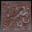 dragonOmClouds1.jpg Download free STL file dragon • 3D print object, stlfilesfree