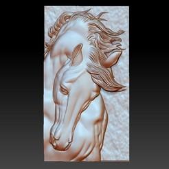 horseHead1.jpg Télécharger fichier OBJ gratuit cheval • Modèle à imprimer en 3D, stlfilesfree