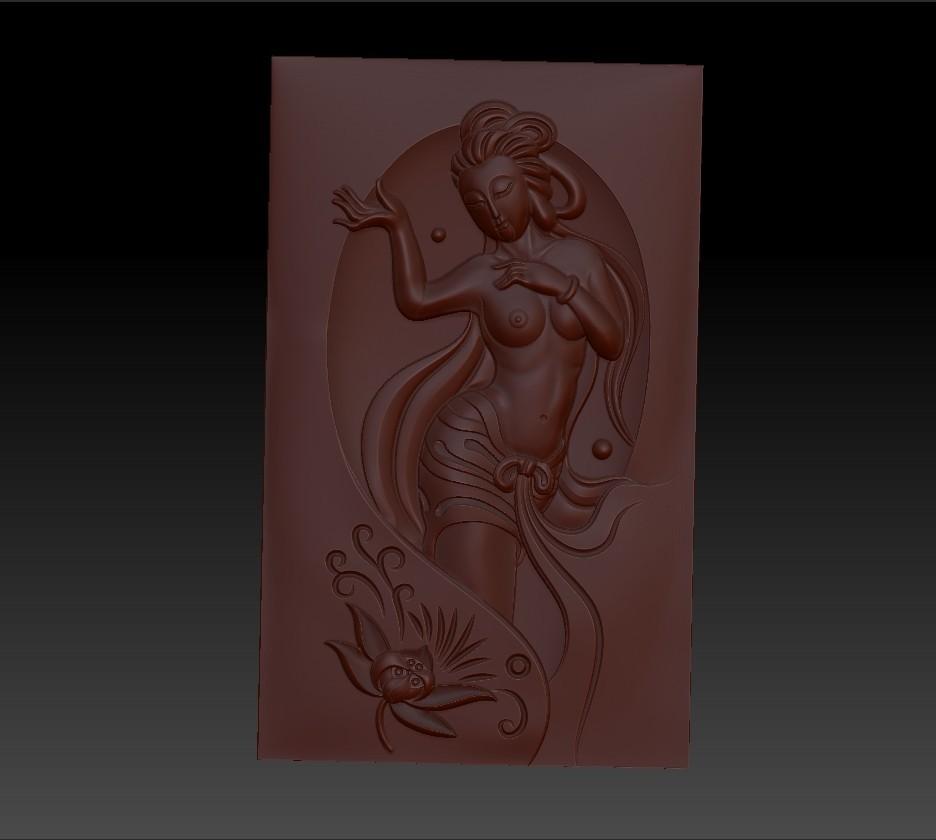 classicalwoman1.jpg Télécharger fichier OBJ gratuit classique et belle femme 3d modèle de bas-relief pour cnc • Modèle pour imprimante 3D, stlfilesfree