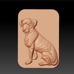 DOG1.jpg Télécharger fichier STL gratuit chien • Design à imprimer en 3D, stlfilesfree