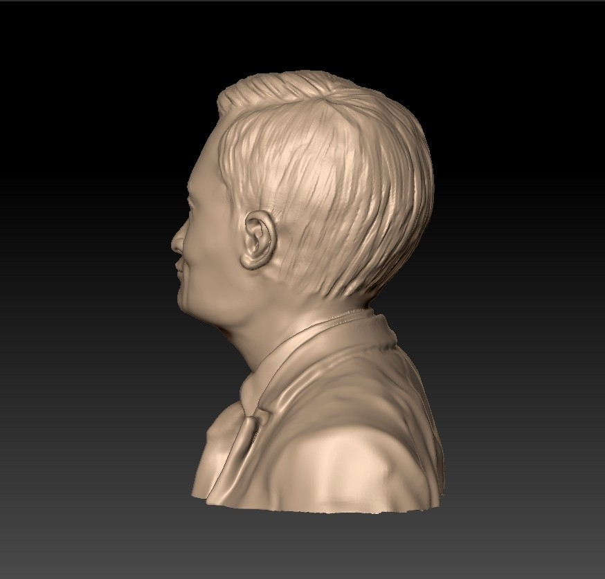 JackMa3.jpg Download free STL file Jack Ma statue • 3D printing object, stlfilesfree