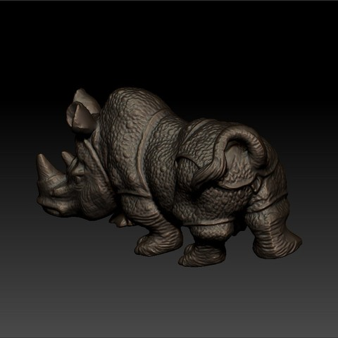 rhinoceros2.jpg Download free STL file rhinoceros sculpture • 3D print object, stlfilesfree