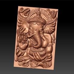 ELEPHANT_GOD1.jpg Télécharger fichier STL gratuit Dieu d'éléphant • Modèle pour imprimante 3D, stlfilesfree