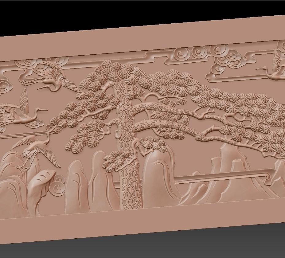 Guest-Greeting_Pine6.jpg Download free STL file Guest-Greeting Pine • Template to 3D print, stlfilesfree