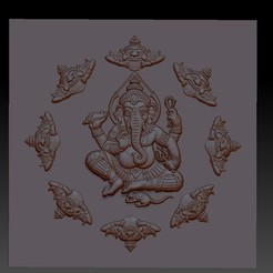 indianelephantbuddha1.jpg Télécharger fichier STL gratuit dieu éléphant ganesha • Objet pour imprimante 3D, stlfilesfree