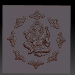 indianelephantbuddha1.jpg Download free STL file ganesha elephant god • Template to 3D print, stlfilesfree