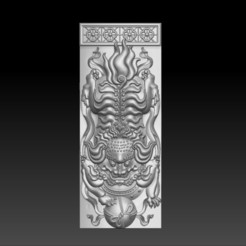traditional_lion1.jpg Télécharger fichier STL gratuit Lion • Modèle imprimable en 3D, stlfilesfree