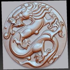 circularDragon1.jpg Download free OBJ file circular dragon  • 3D printing template, stlfilesfree