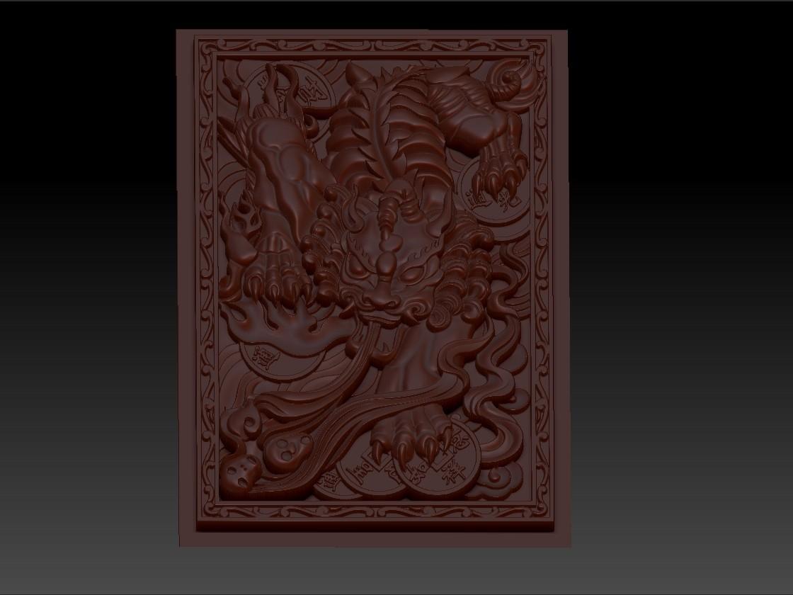 pixiu2.jpg Télécharger fichier STL gratuit Mythique Animal Sauvage Pixiu • Modèle à imprimer en 3D, stlfilesfree