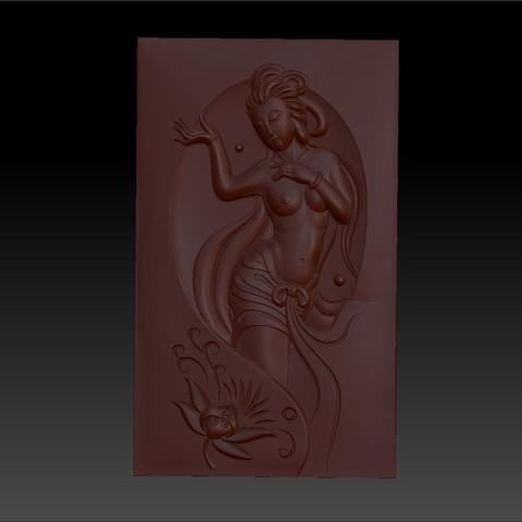 classicalwoman2.jpg Télécharger fichier OBJ gratuit classique et belle femme 3d modèle de bas-relief pour cnc • Modèle pour imprimante 3D, stlfilesfree