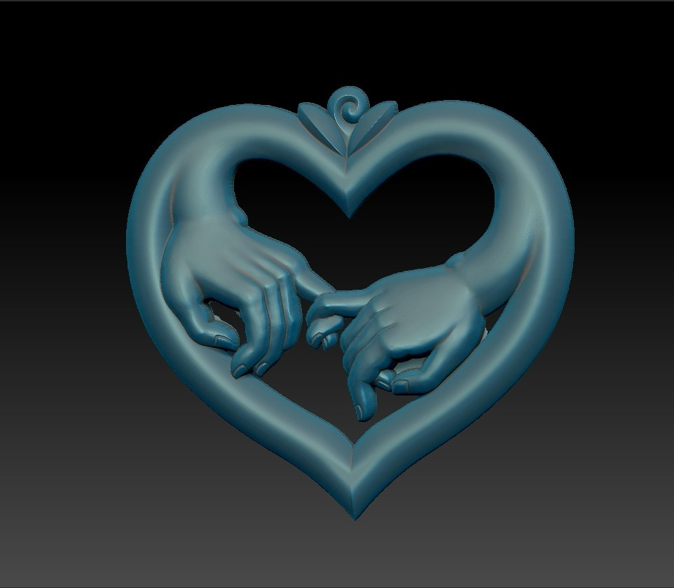 love_hands3.jpg Download free STL file hands of love • 3D printer model, stlfilesfree