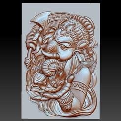 elephantgodgenasha1.jpg Download free STL file genasha elephant god  • 3D printer design, stlfilesfree
