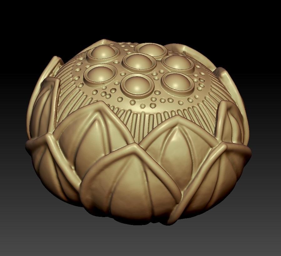 lotusFlower2.jpg Download free STL file lotus • 3D printing design, stlfilesfree
