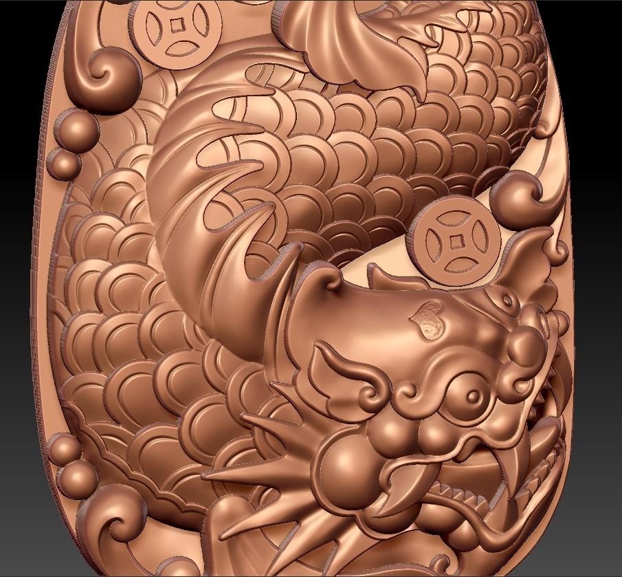 dragon_fish6.jpg Télécharger fichier STL gratuit créature de poisson dragon • Modèle pour imprimante 3D, stlfilesfree