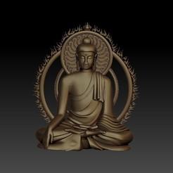 ThailandBuddha1.jpg Télécharger fichier STL gratuit Bouddha de Thaïlande • Modèle à imprimer en 3D, stlfilesfree