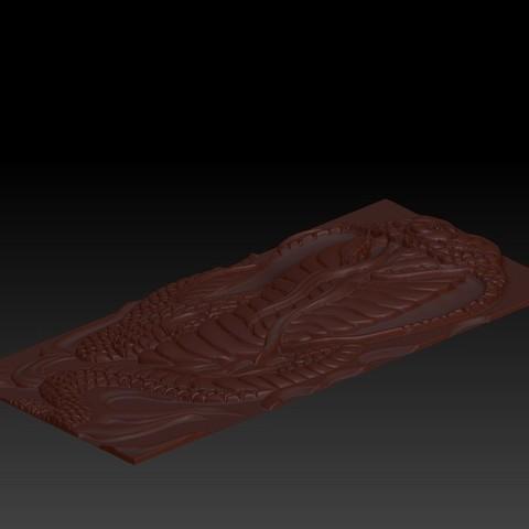 snake4.jpg Télécharger fichier STL gratuit Cobra Snake relief modèle pour cnc • Design imprimable en 3D, stlfilesfree