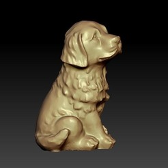 puppy1.jpg Download free STL file puppy • Template to 3D print, stlfilesfree