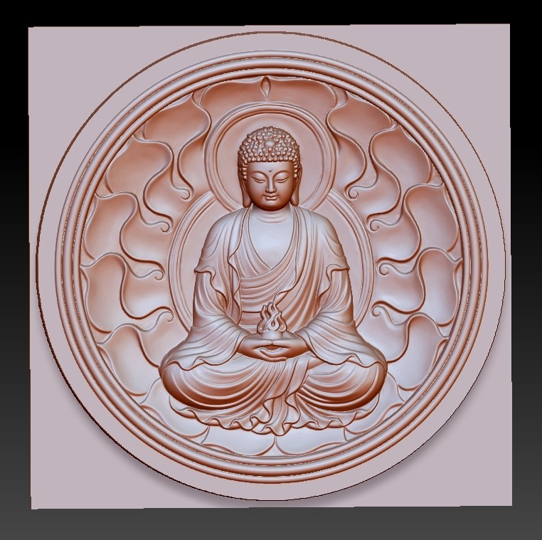 buddhaZX1.jpg Download free OBJ file budhha • 3D print model, stlfilesfree