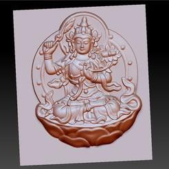 bodhisattvaTTT1.jpg Télécharger fichier STL gratuit Bouddha Bodhisattva • Modèle pour impression 3D, stlfilesfree